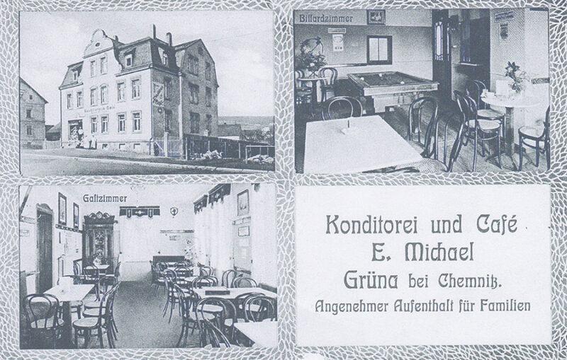 Conditorei & Café Bösewetter - historisches Bild Michael