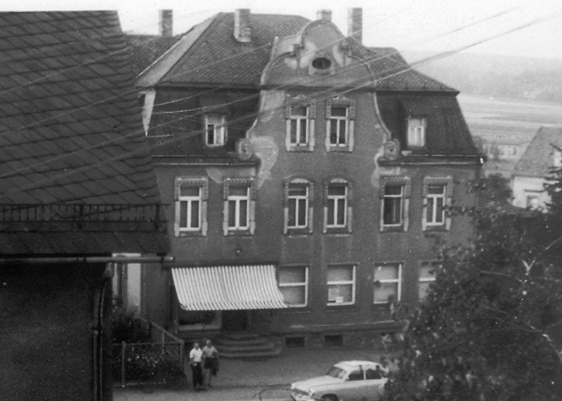 Conditorei & Café Bösewetter - historisches Bild 60er